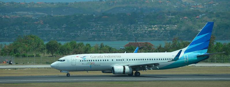 Vliegen naar Bali
