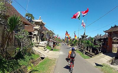 Bali fietsen